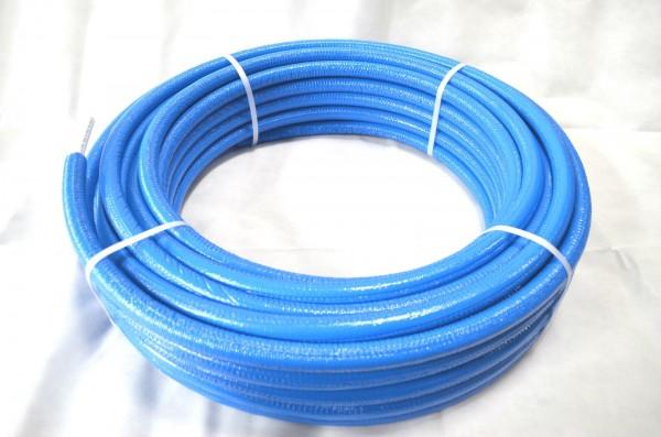 50 m Rolle BLAU Mehrschichtverbundrohr PEXB/AL/PEXB 16x2 mm 20x2 mm isoliert DVGW zertifiziert