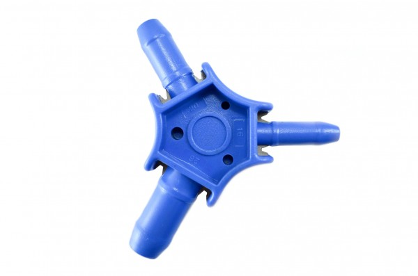 Kalibrierer und Entgrater Sternform Kunststoff 16-20-26 mm