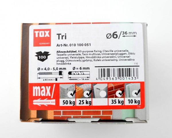 Tox Tri Dübel rot