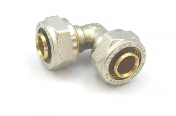 Schraubfitting Winkel 90° für Mehrschichtverbundrohr