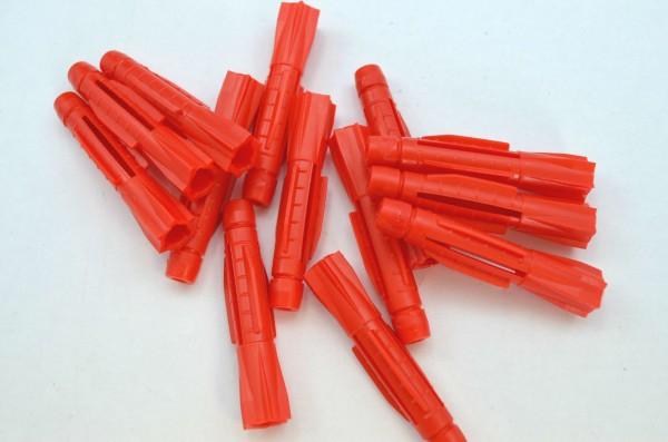 Hüfner Universaldübel Allzweckdübel rot ohne Kragen